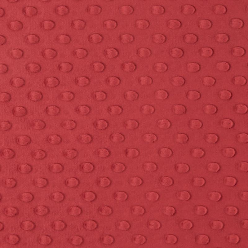 Cuddle Embossed Dimple - Crimson 60