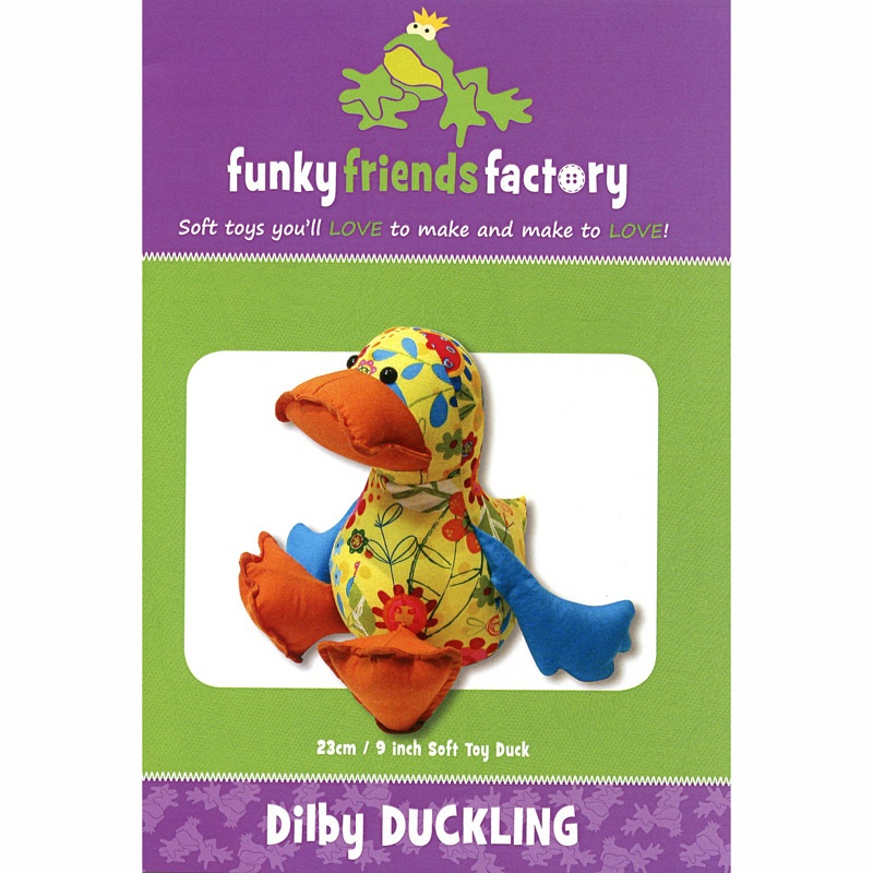 Dilby Duck Funky Friends Factory Pattern