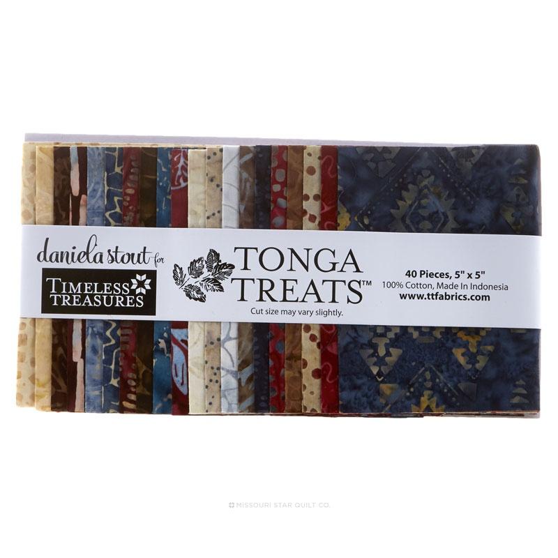 Tonga Treat Batik - Sophisticate Charm Pack