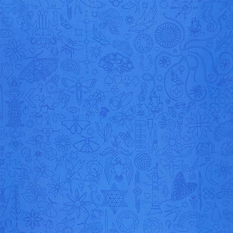 Sun Print 2020 Embroidery Hydrangea Yardage Alison Glass