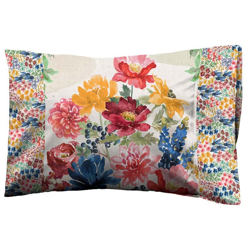 Garden Charm Panel Pillowcase Kit
