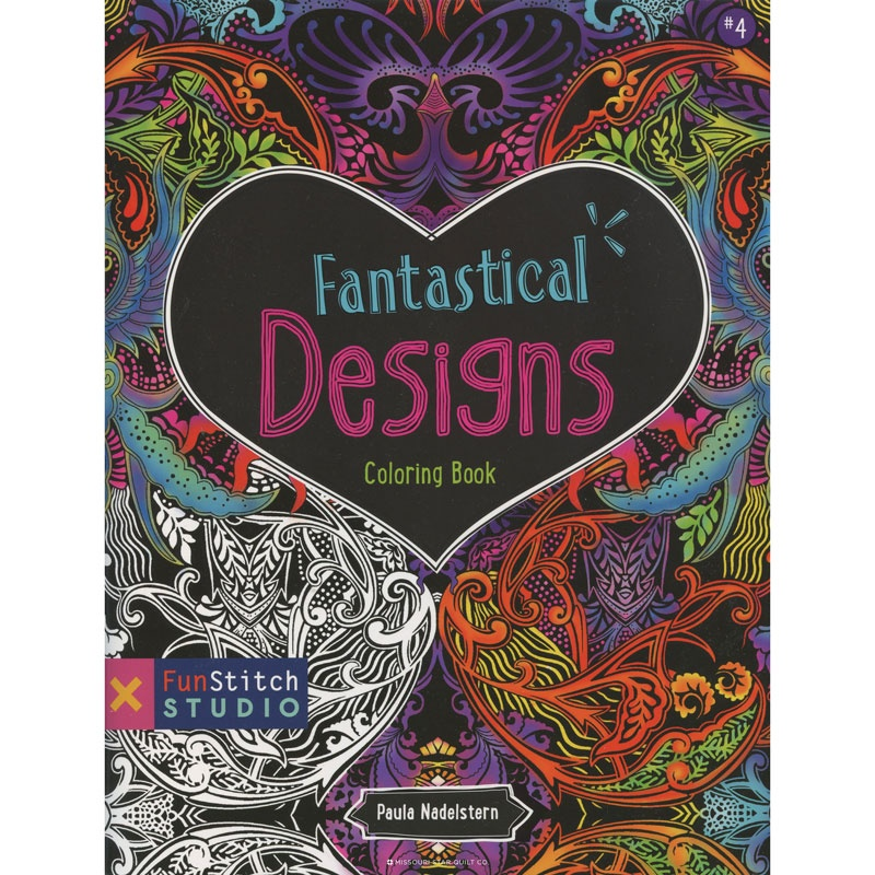 Fantastical Designs Coloring Book by Paula Nadelstern