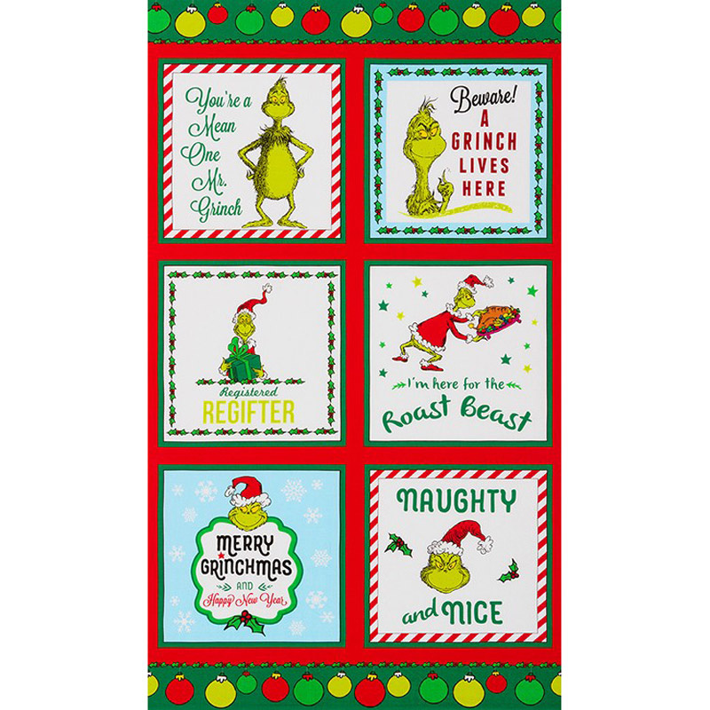How the Grinch Stole Christmas 8 - Grinch Holiday Panel