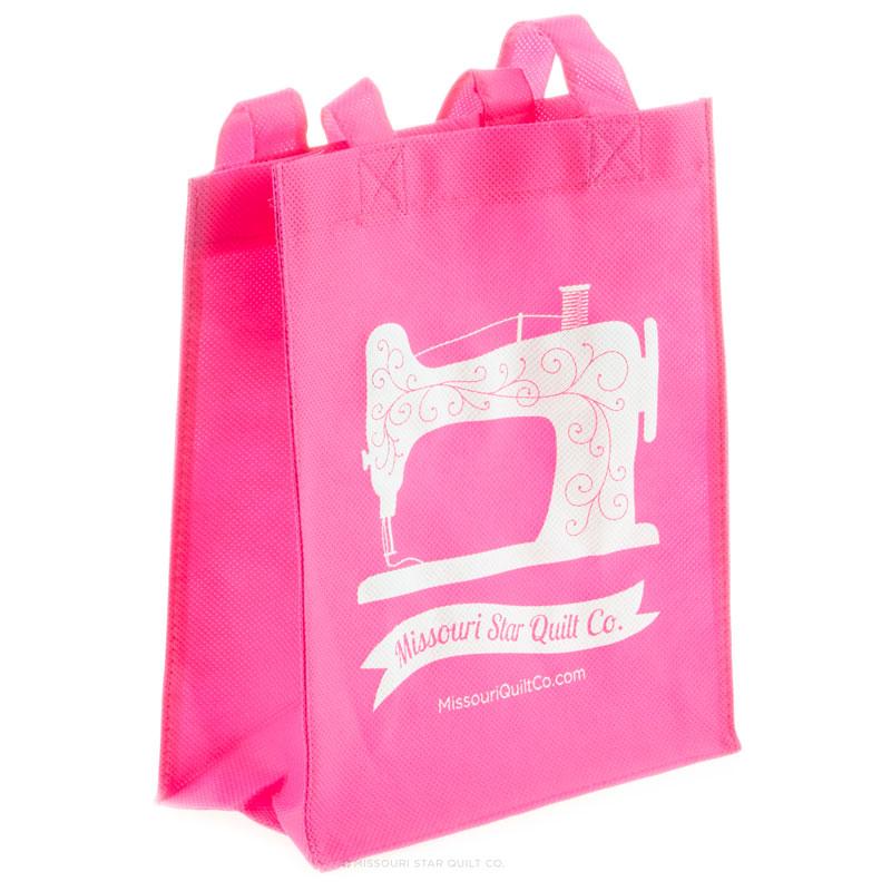 Missouri Star Small Shopping Tote Pink