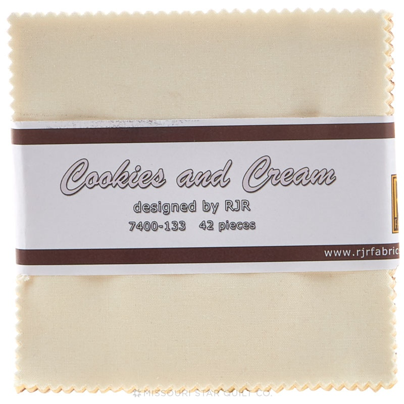 Cotton Supreme Solids Cookies & Cream Charm Pack