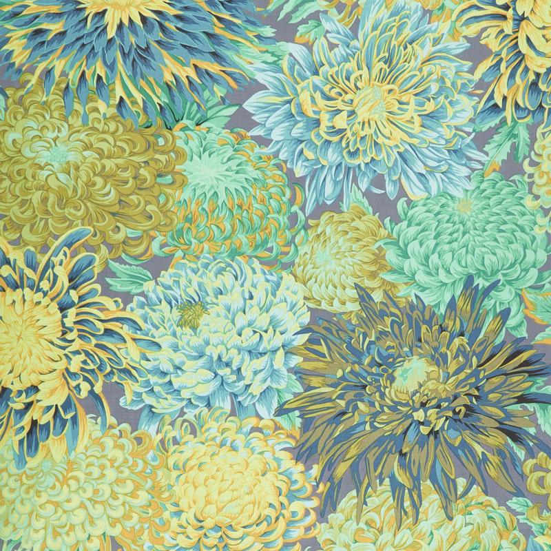 Kaffe Fassett Collective Fall 2018 - Day Chrysanthemum Forest Yardage