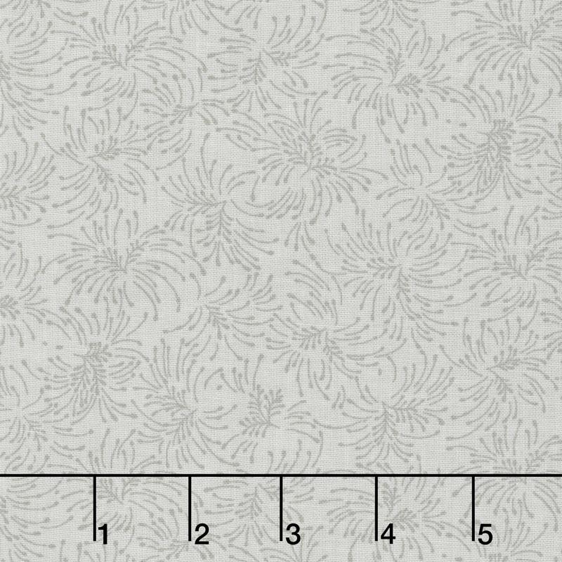 Chloe - Small Twig Bouquets Light Gray 108