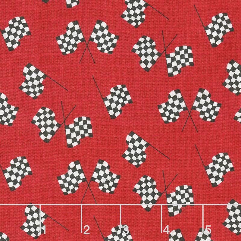Start Your Engines - Flag Red Yardage