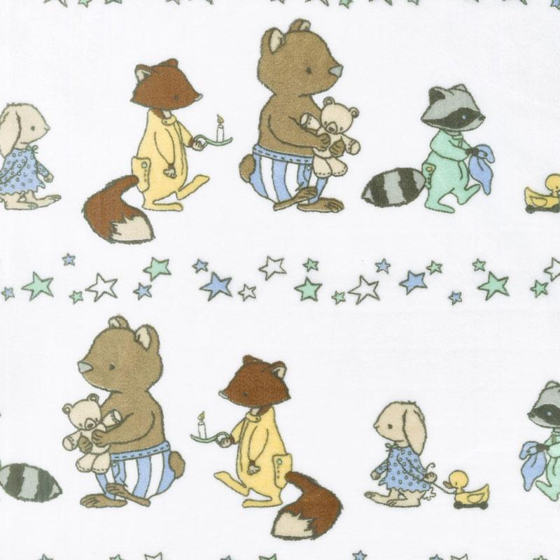 Cuddle Prints - Bedtime March Honeydew 60