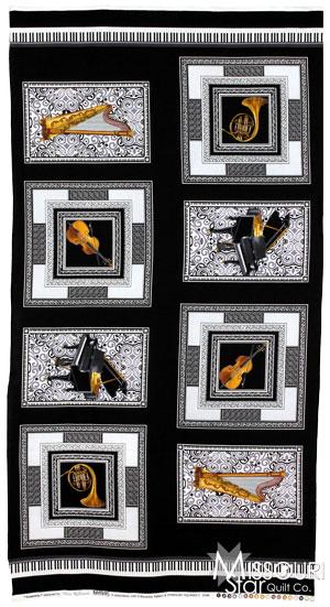 Concerto - Symphony Square Black Panel