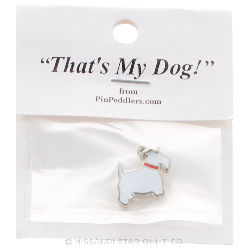 Terrier Charm Profile White
