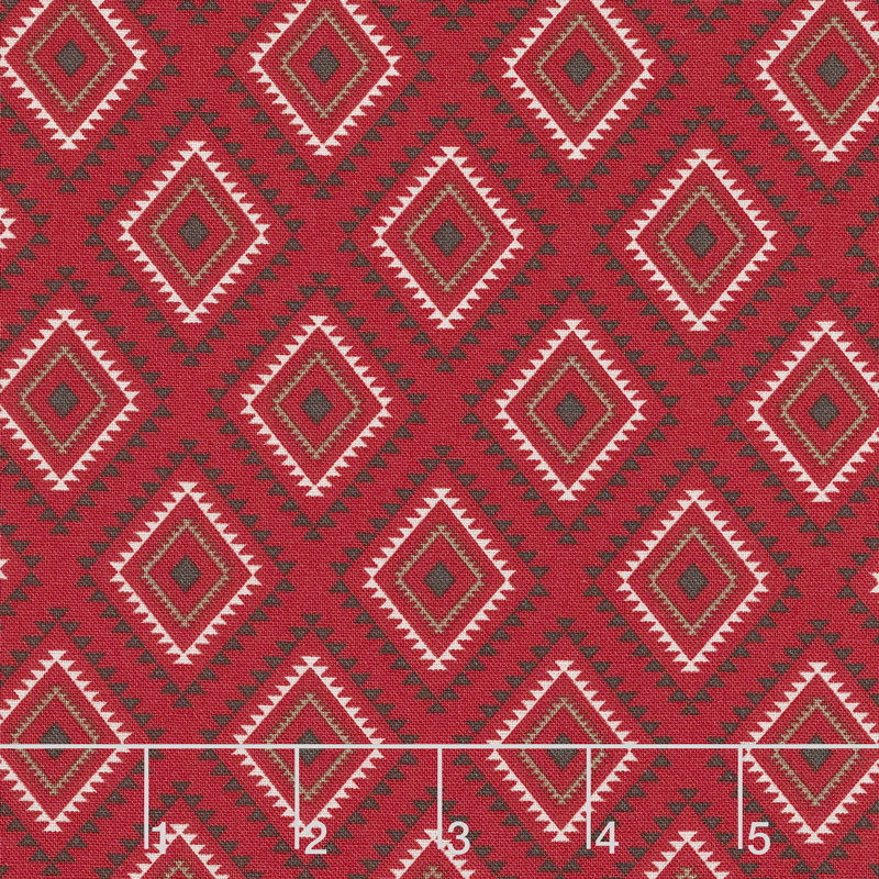 High Adventure 2 - Aztec Red Yardage