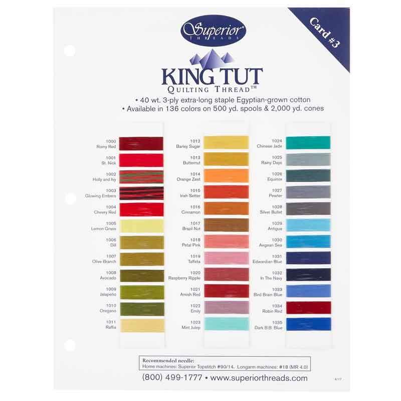 7b48b40fabc King Tut Threads Solid Color Card  3