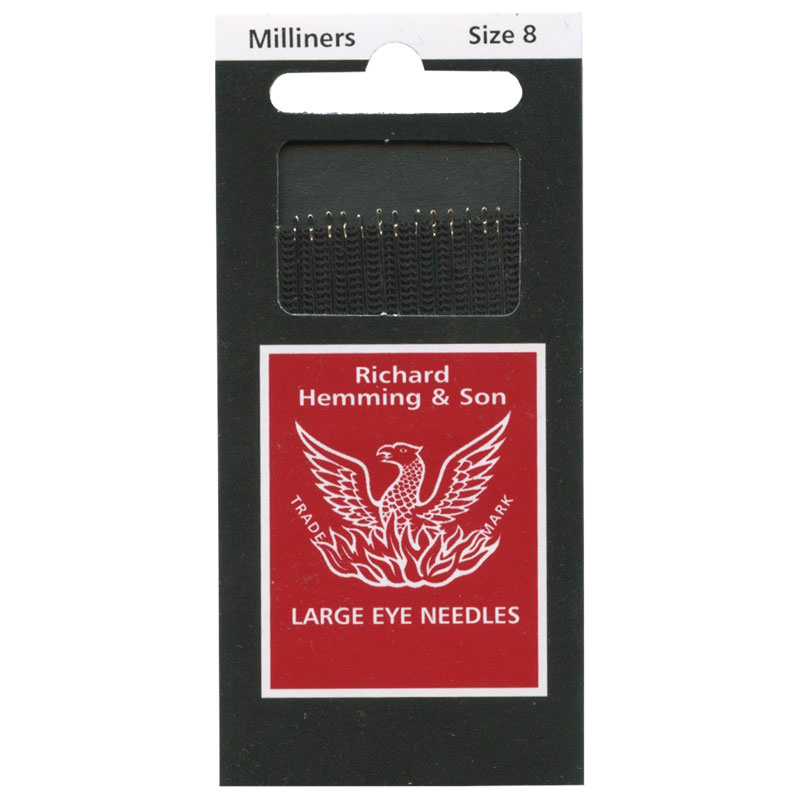 Large Eye Sewing Needles Milliners Size 40 Colonial Needle Company New Large Eye Sewing Machine Needles