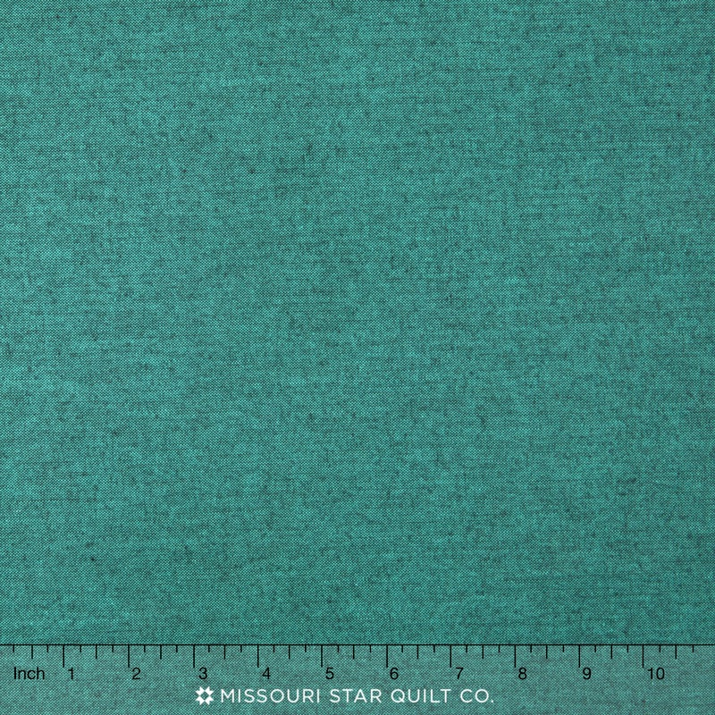 Peppered Cottons - Peacock Yardage