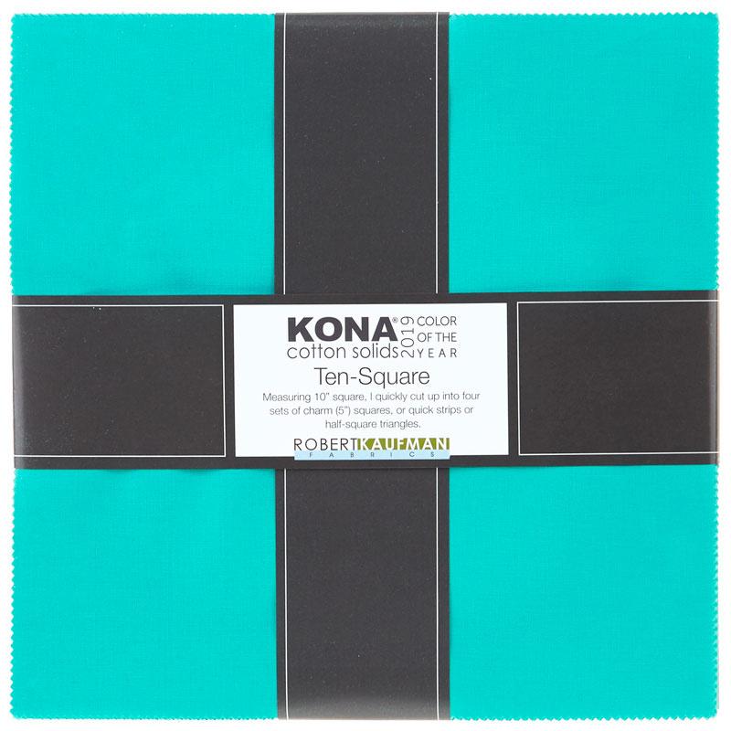 Kona Cotton 2019 Color of the Year Splash Ten Squares