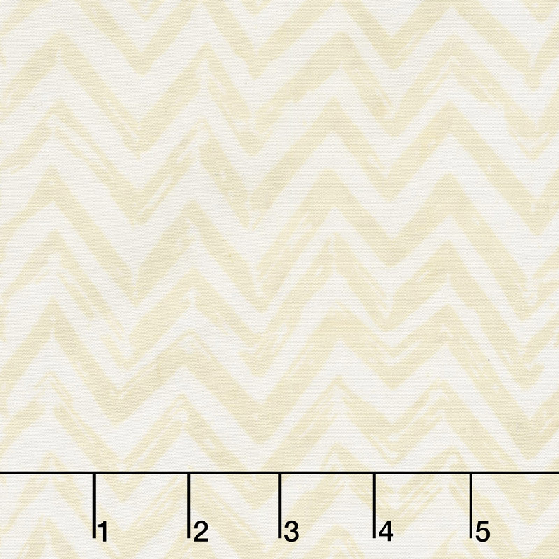 Chocolate and Creams Batiks - Chevron Whisper Yardage