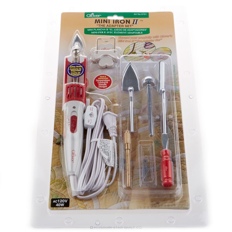 Clover Mini Iron II-The Adapter Set