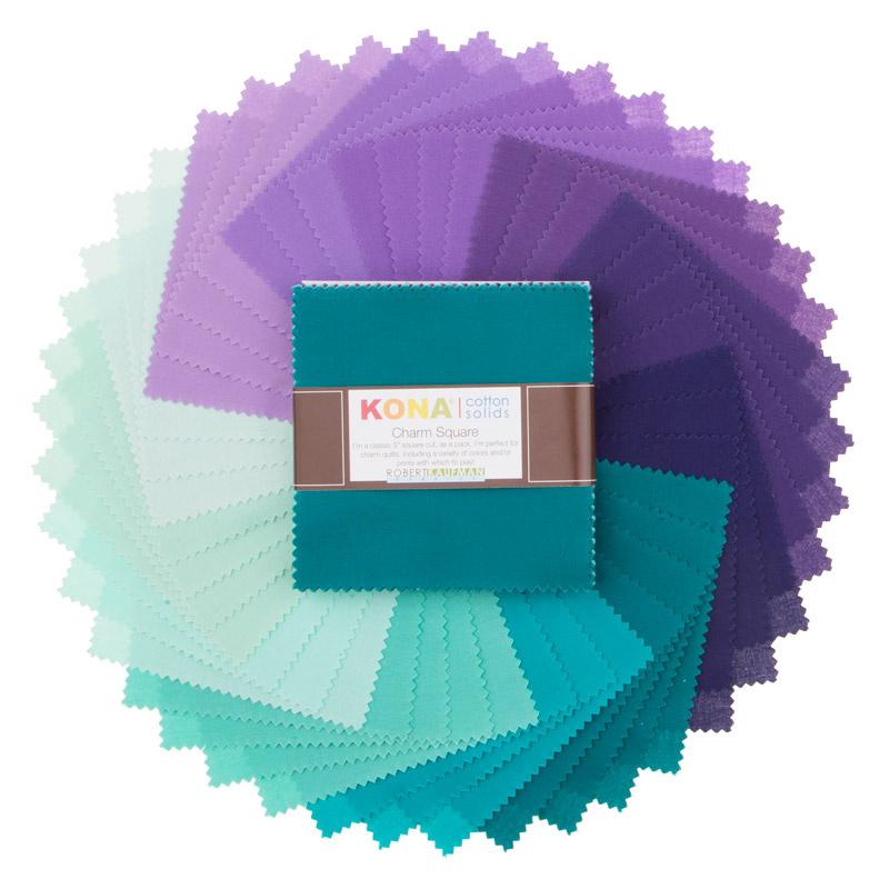Kona Cotton - Aurora Palette Charm Pack