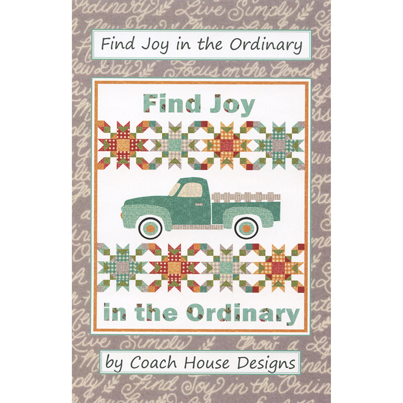 Find Joy in the Ordinary Pattern