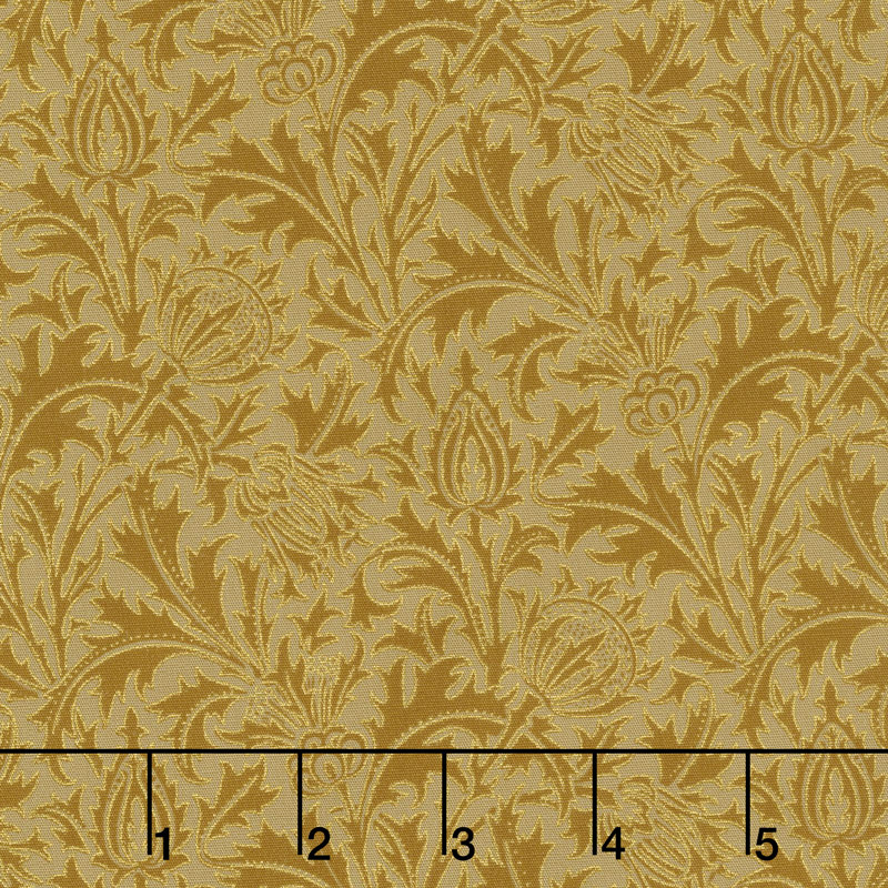 Morris Holiday 1897 - Thistle Gold 108
