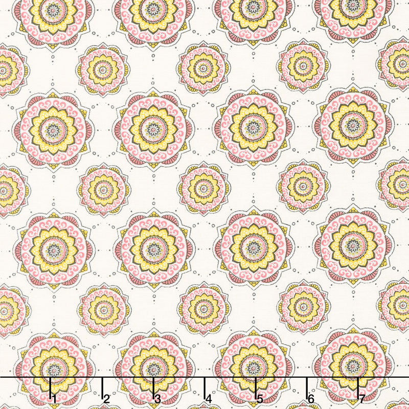 Petal Lane - Petal Posh Cream Yardage