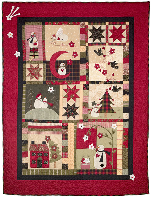 Catch A Christmas Star Pattern Bunny Hill Designs