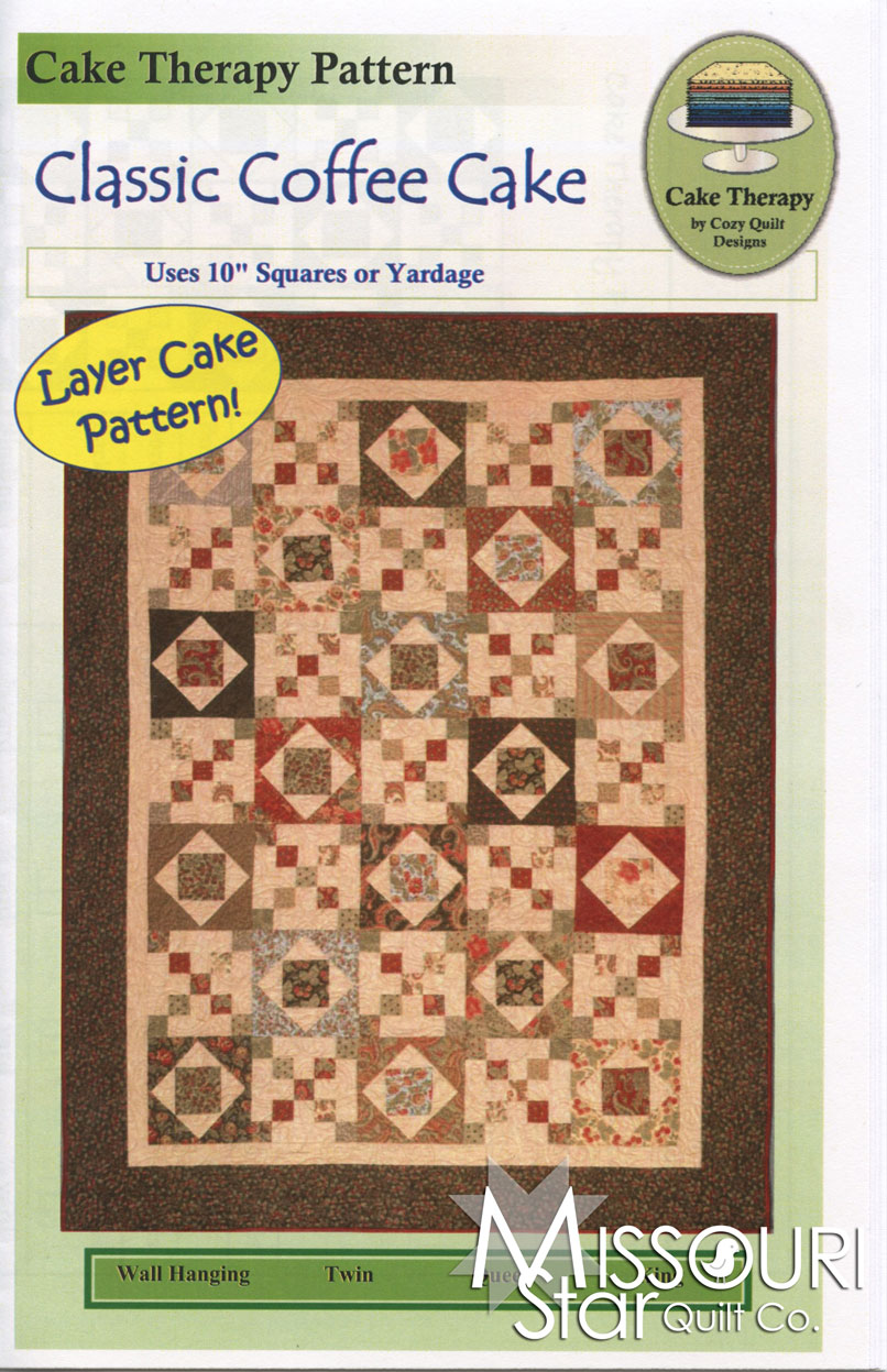 layer cake quilt patterns classic coffee cake quilt pattern cozy quilt designs 5430