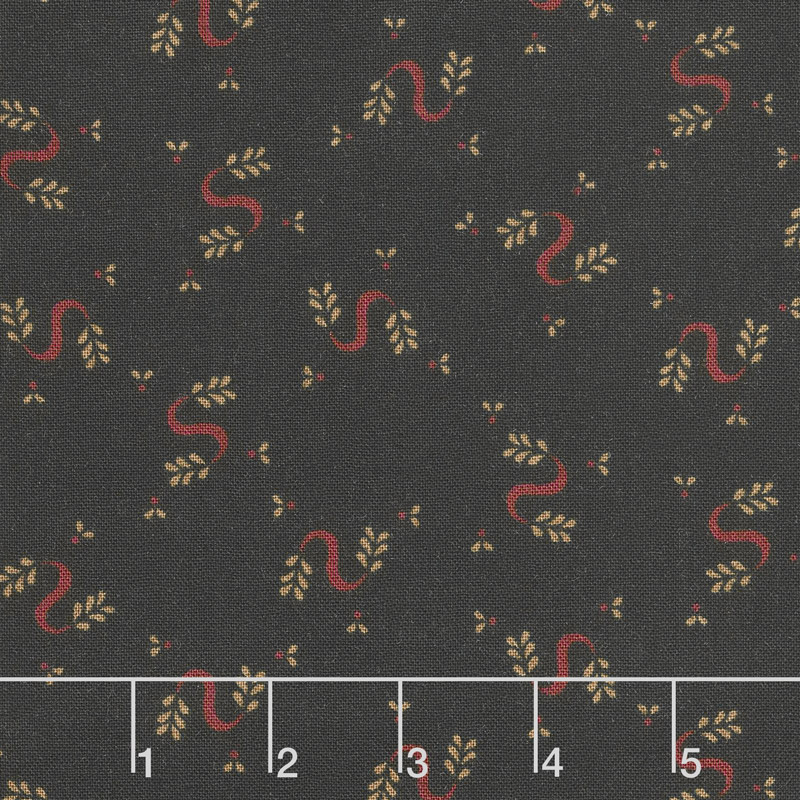 Wit & Wisdom - Serpentine Swirls Black Yardage