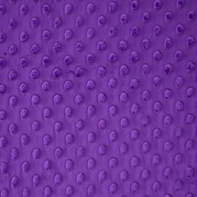 Cuddle Embossed Dimple - Purple 60