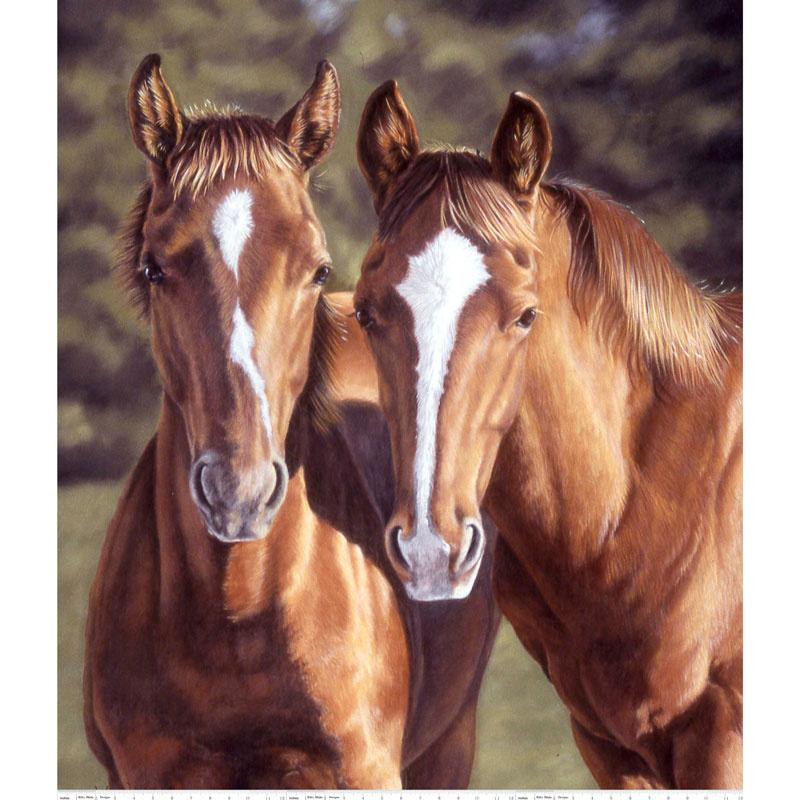 Horsin' Around - Horse Brown Panel