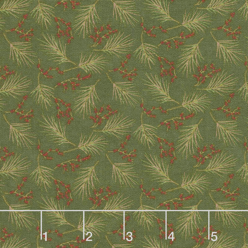 Winter Manor - Mini Pine Yardage
