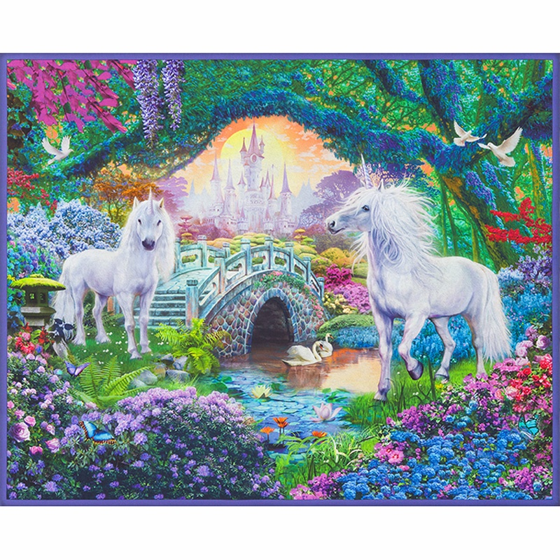 Picture This - Unicorns Sweet Digitally Printed Panel