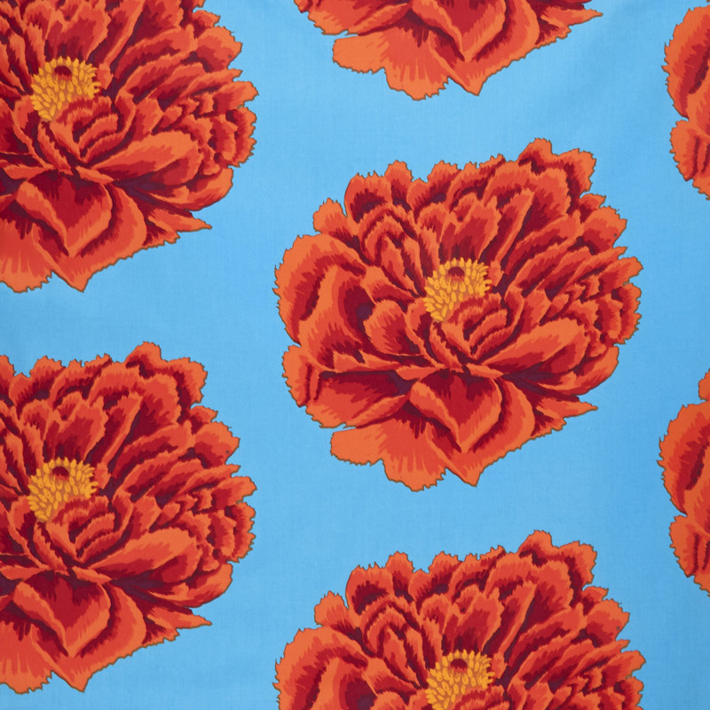 Purchase quilting fabric by the yard quilt fabric yardage kaffe fassett red bloom 108 mightylinksfo