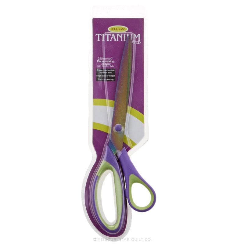 10in Dressmaker Titanium Coated Scissors