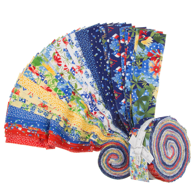 Bluebonnet Patch Jelly Roll