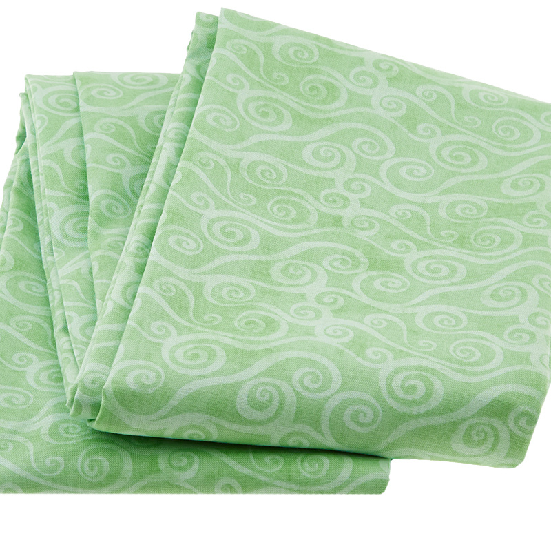 Wilmington Essentials - Swirly Scroll Light Green 3 Yard Cut