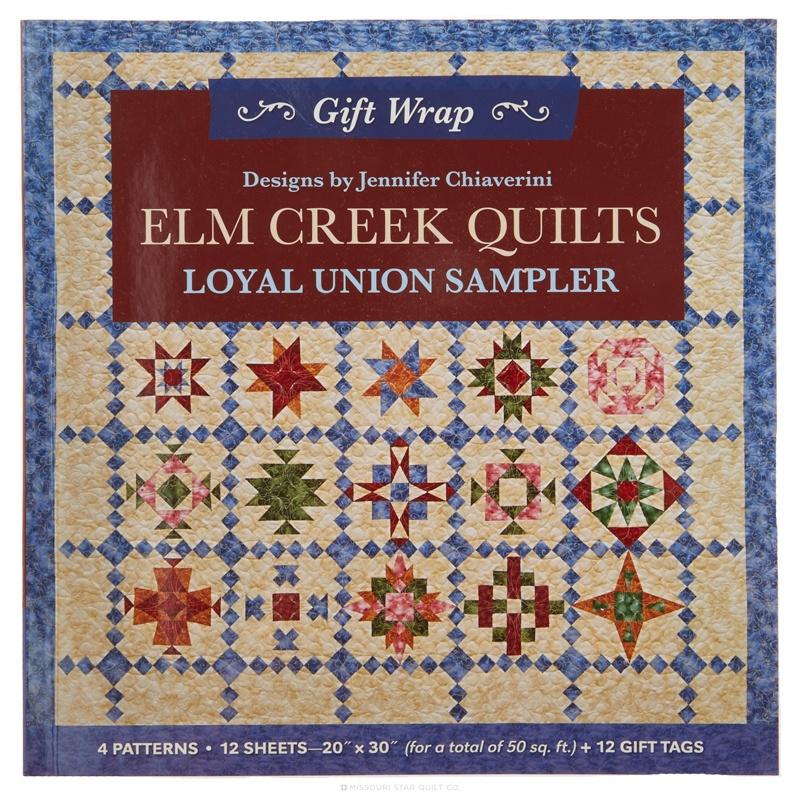 Gift Wrap - Elm Creek Quilts Loyal Union Sampler Book