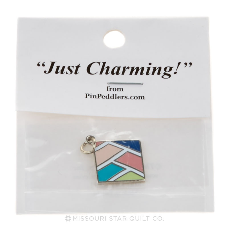 Boxed Weave Charm