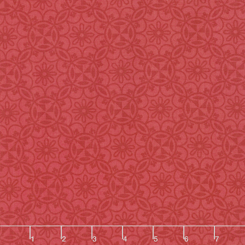 Home Grown - Medallion Red Yardage