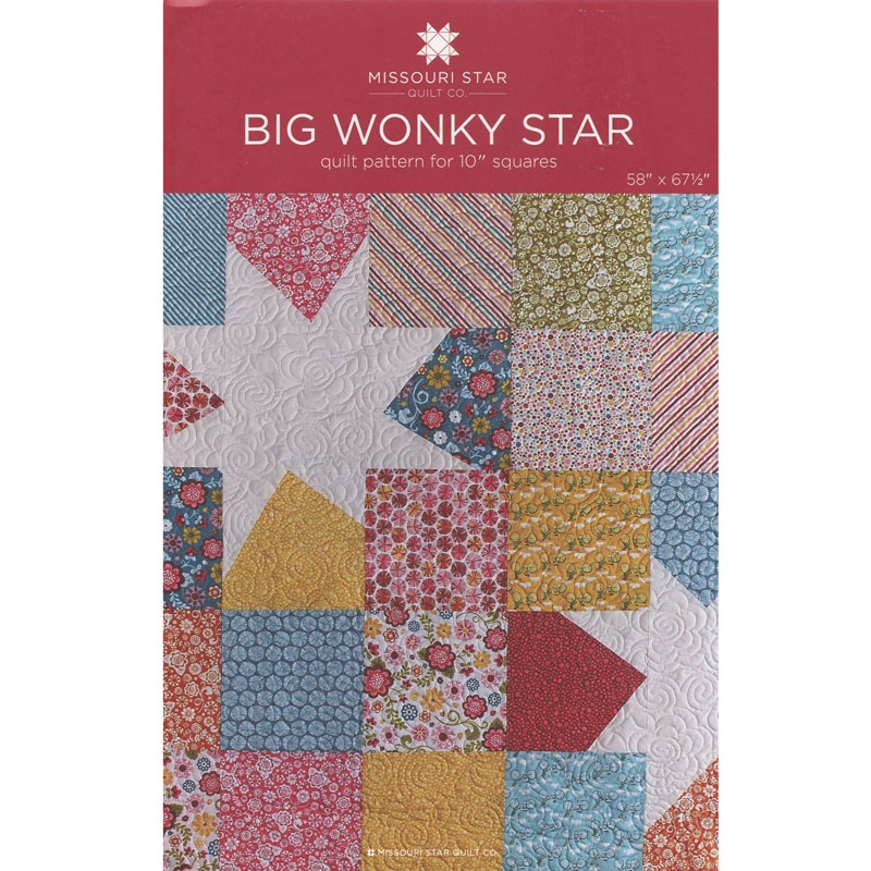 Big Wonky Star Quilt Pattern by MSQC - MSQC - MSQC — Missouri Star ... : missouri quilt daily deals - Adamdwight.com