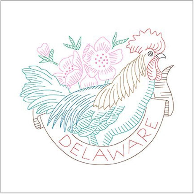 Birds of Liberty - Delaware Digitally Printed Panel