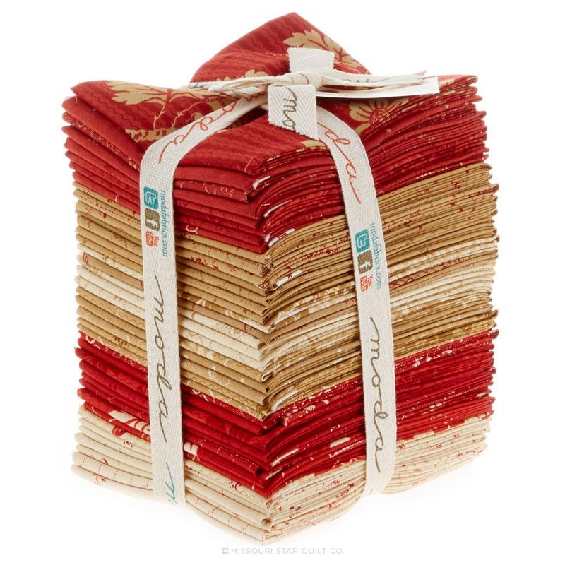 Crazy for Red Fat Quarter Bundle