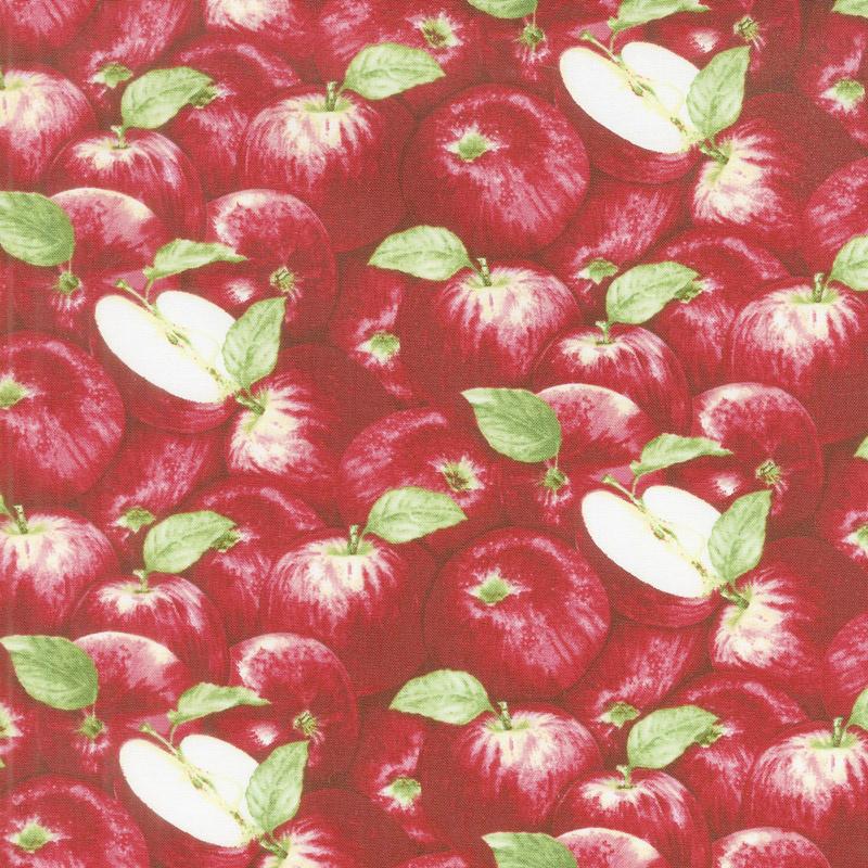 Apple Festival - Packed Apples Red Yardage