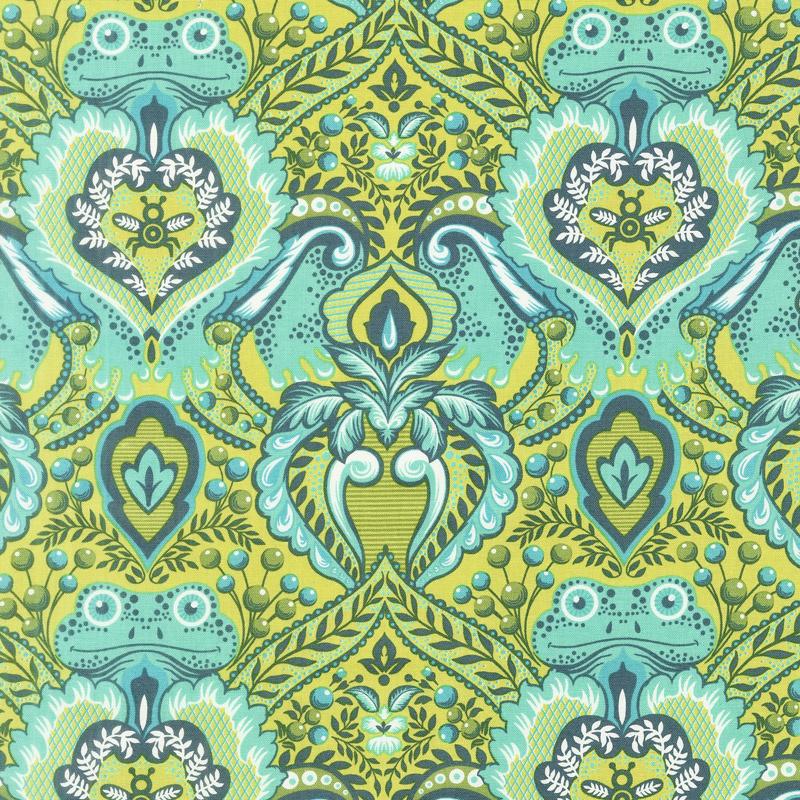 Tula Pink's All Stars - Frog Prince Myrtle Yardage