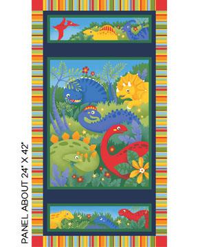 Jungle Club - Dinosaur World Multi Panel
