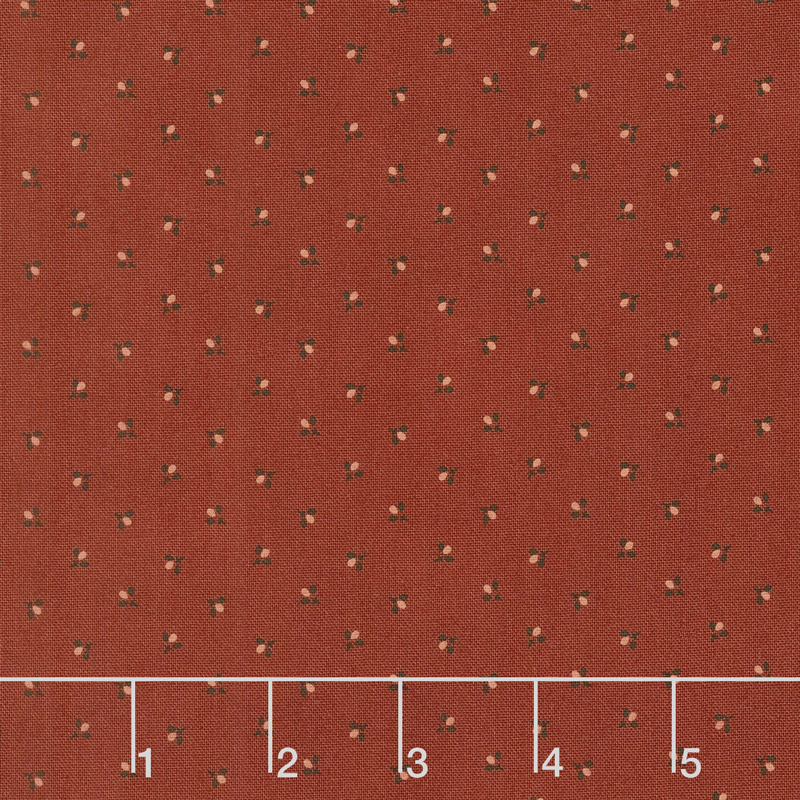 Spice It Up - Nosegay Redder Rust Yardage