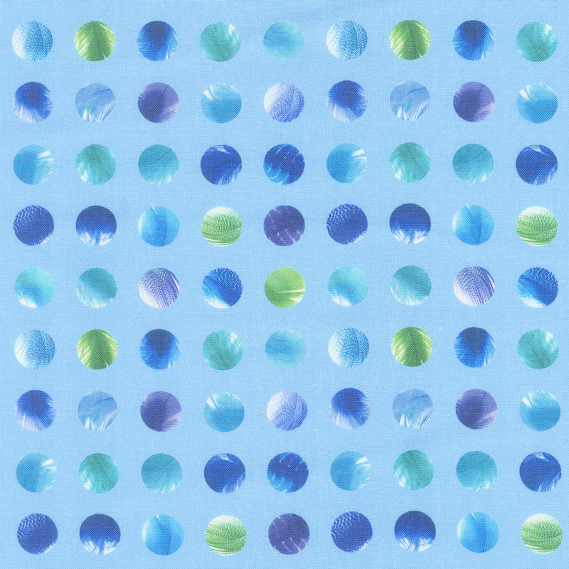 Gradients 2 - Splash Dots Digitally Printed Yardage