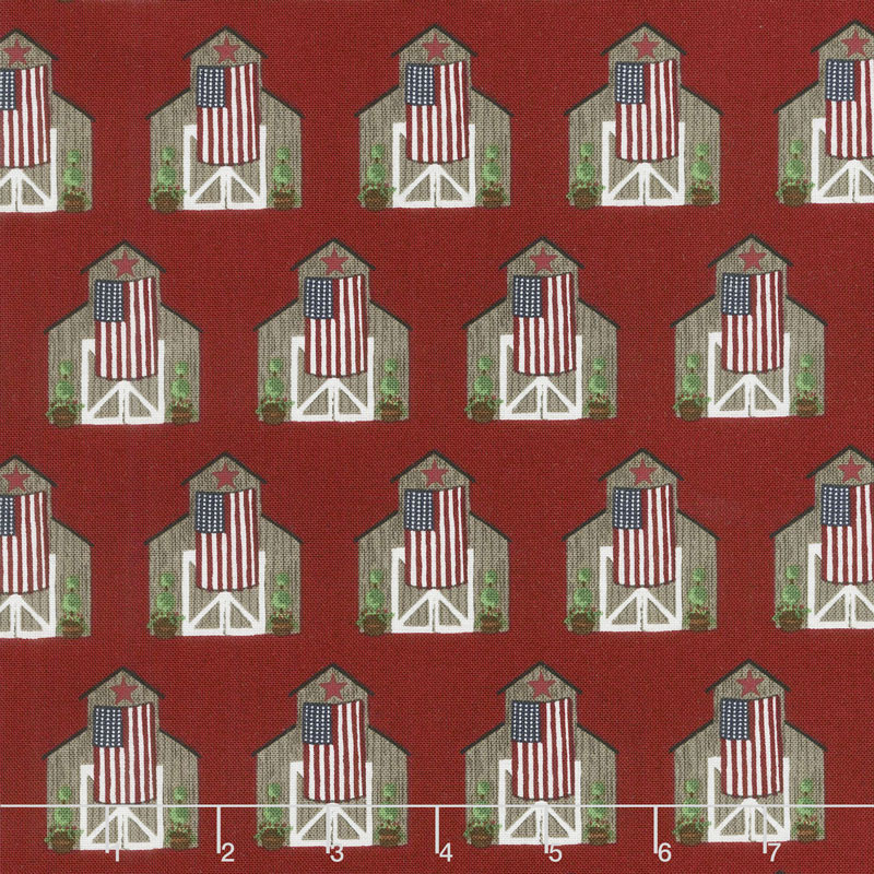 Celebrate America! - Barns Red Yardage