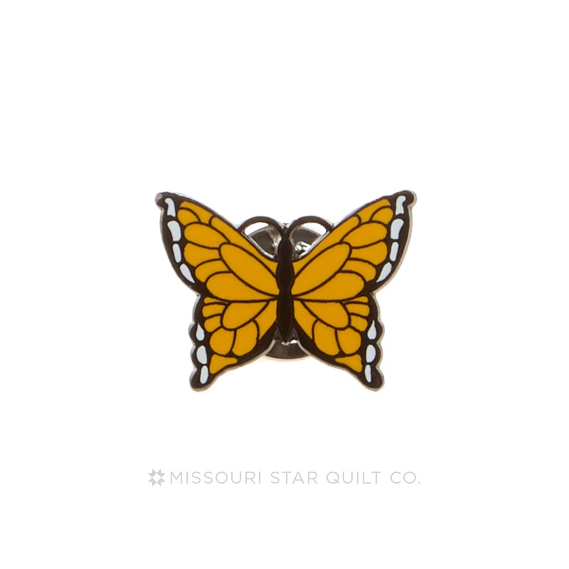 Butterfly Orange Pin by Pin Peddlers